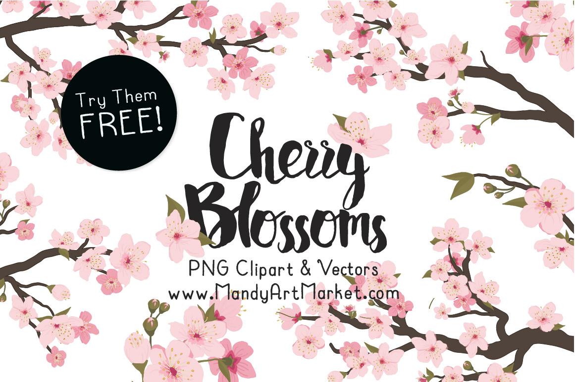 Cherry Blossom Freebie
