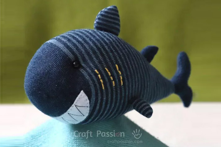 Sock Shark Softie