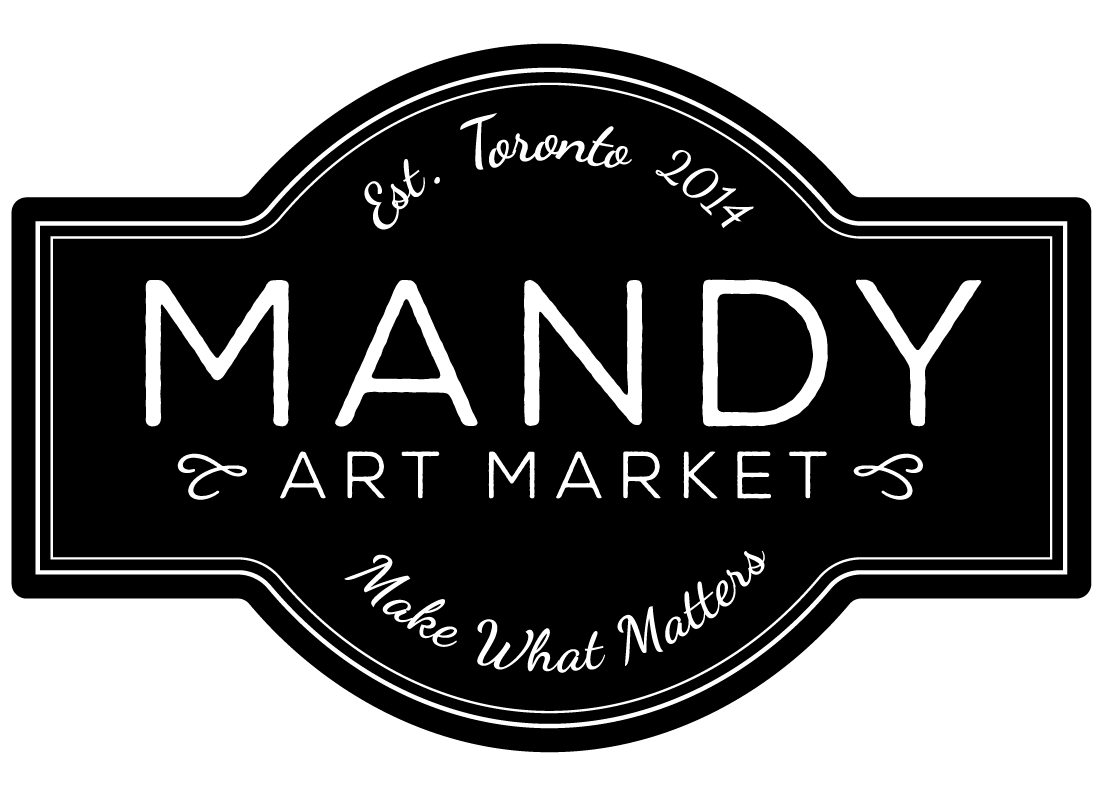 Mandy Art Market Logo Dark