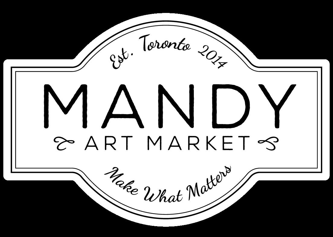 Mandy Art Market Logo Light