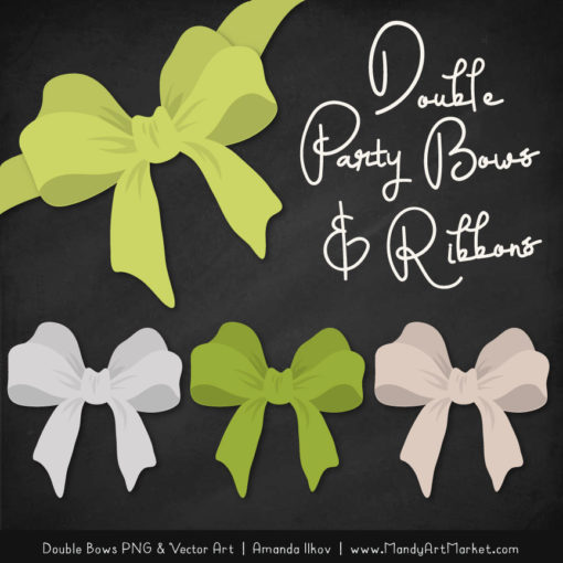 Free Bamboo Party Bow Clipart
