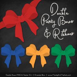 Free Crayon Box Boy Party Bow Clipart