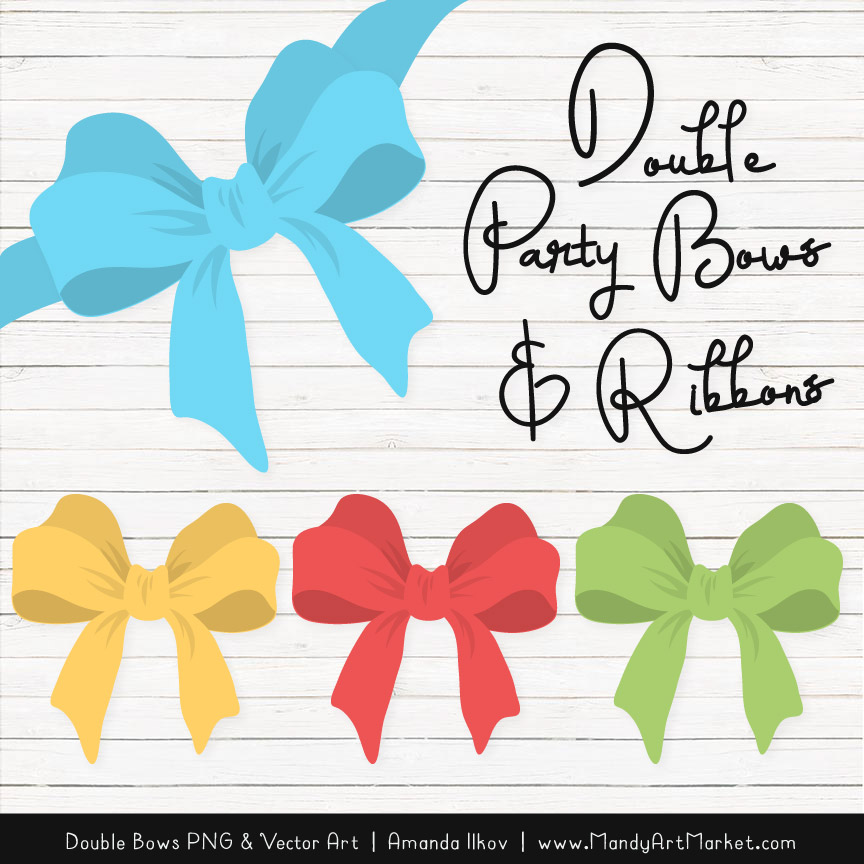 Free Fresh Boy Party Bow Clipart
