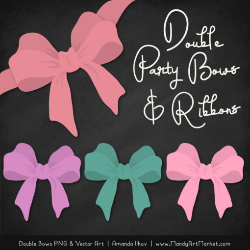 Free Garden Party Party Bow Clipart