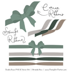 Free Hemlock Party Bow Clipart