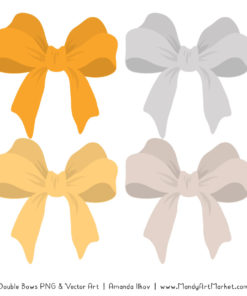 Free Sunshine Party Bow Clipart