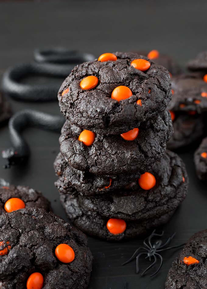 dark-chocolate-halloween-cookies