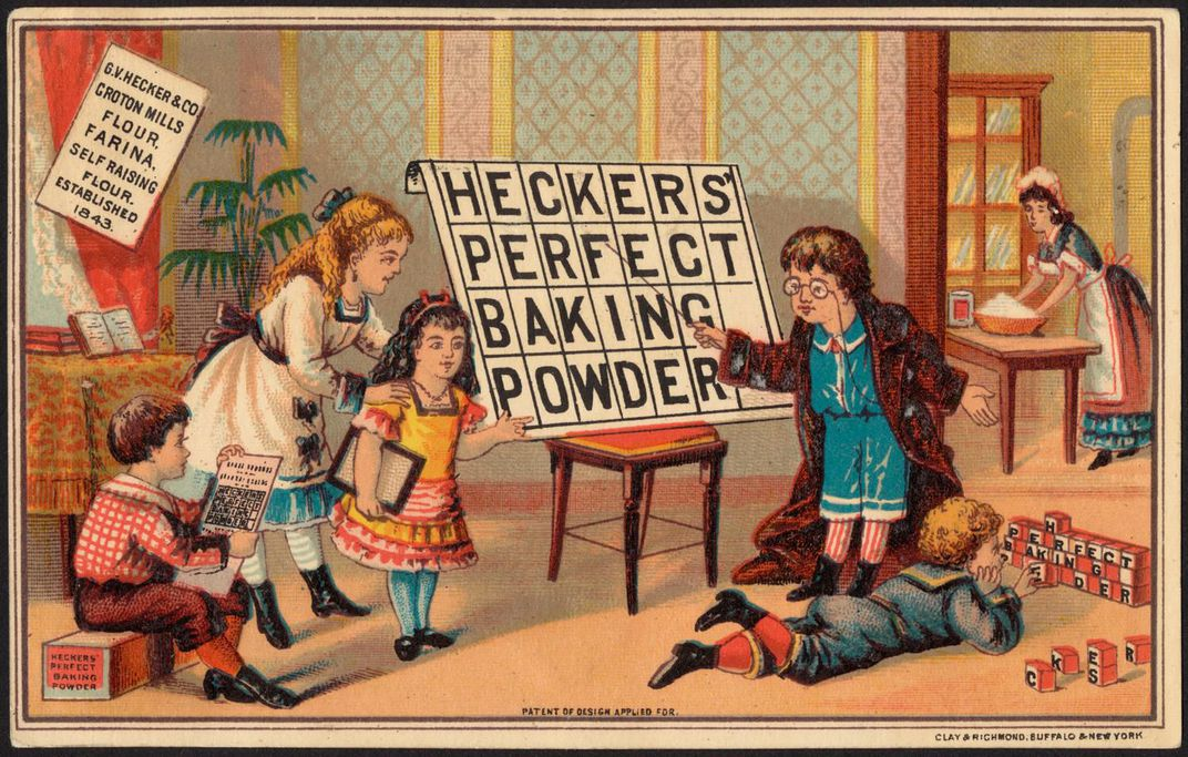 19th century Baking Powder Advertisement