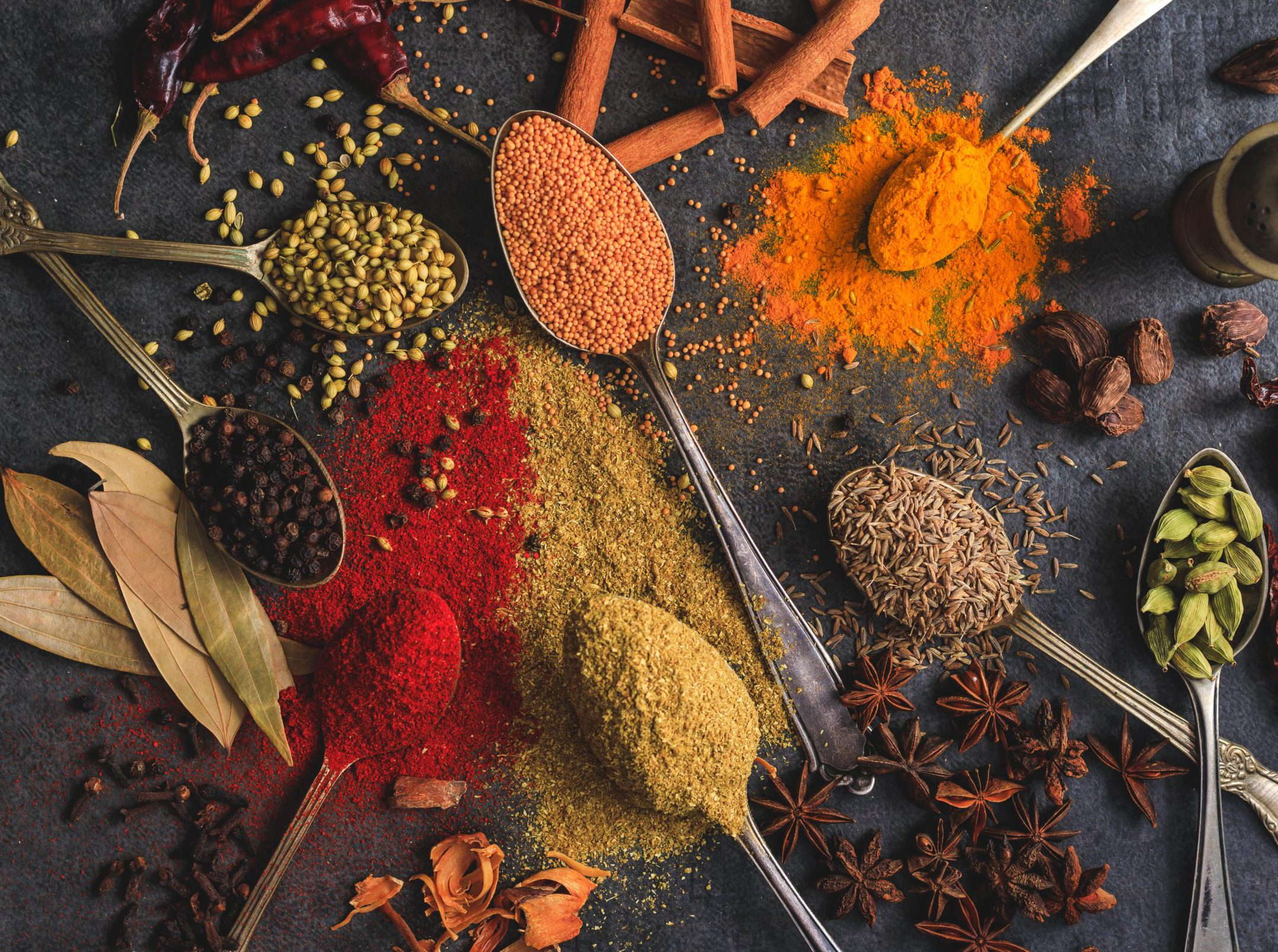 Image of Assorted Herbs and Spices