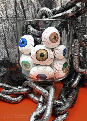 Eyeball Rocks in a Jar
