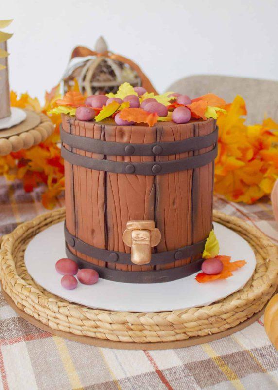 Wood Look Cake