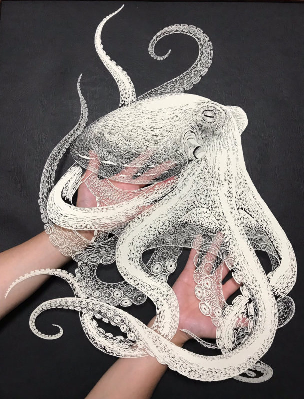 Kirigami Octopus