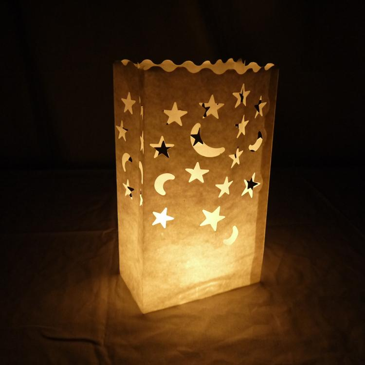 Paper Bag Luminary