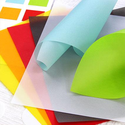 Colored Vellum Paper