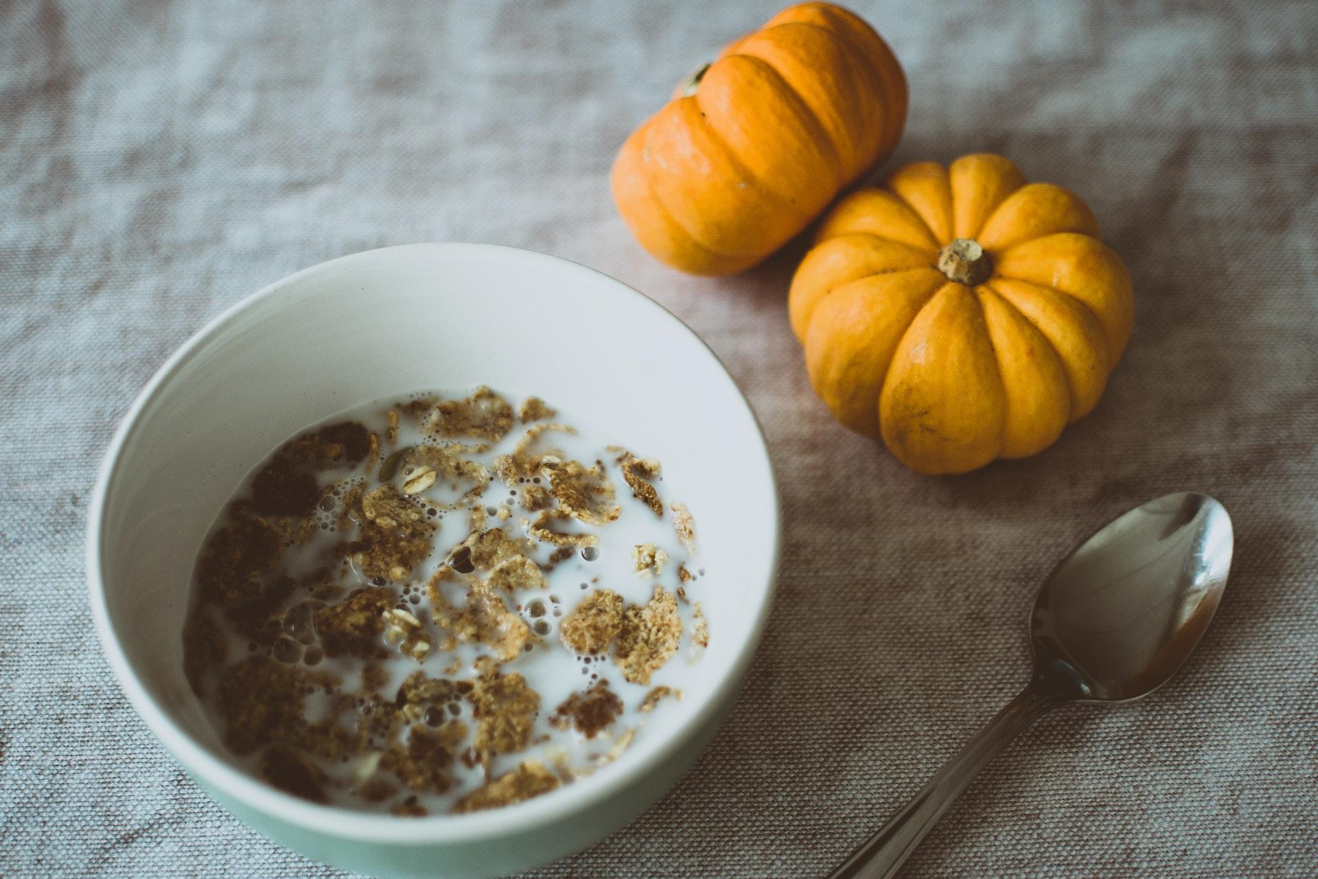 Photo of Pumpkins & Cereal Breakfast